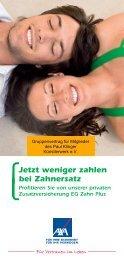 Jetzt weniger zahlen bei Zahnersatz - Paul-Klinger ...