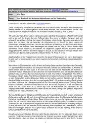 1 Autor: Karl Geyer Thema: Das Geheimnis des ... - Kahal.De