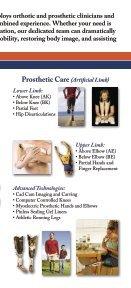 Orthotics and Prosthetics - Page 3