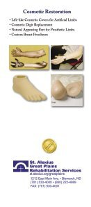 Orthotics and Prosthetics - Page 4