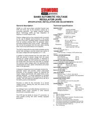 technical manual (PDF 92K) - Power Drive Systems Generator ...