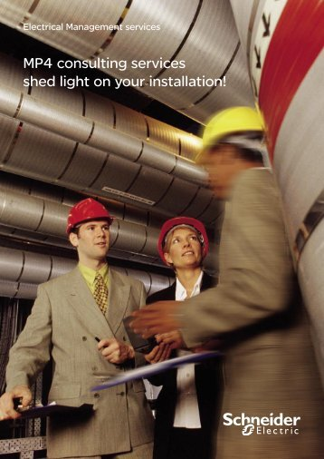 Electrical Management services MP4 consulting ... - Schneider Electric
