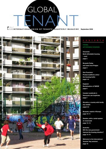 GT September 2008 in pdf - International Union of Tenants
