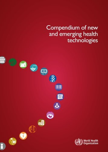 Compendium of new and emerging health technologies