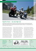 MoToRcyclE RoAD SAFETy REpoRT 2010 - Dekra - Page 6