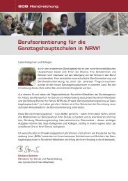 Der BOB-Ordner - Stiftung Partner für Schule NRW