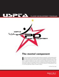 Volume 3, No. 6 - United States Professional Tennis Association
