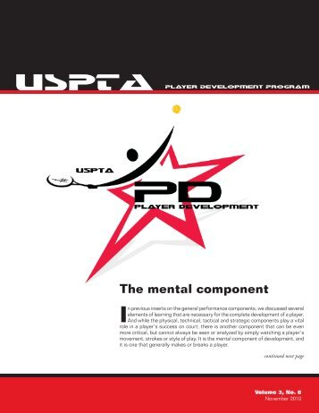 Volume 3, No. 6 - United States Professional Tennis Association