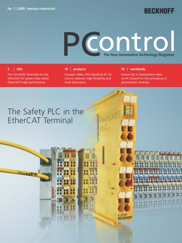 PC-Control 1|2009 - PC-Control The New Automation Technology ...