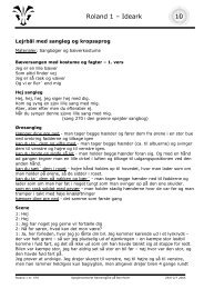 Roland 1 arbejdsark - Spejdernet