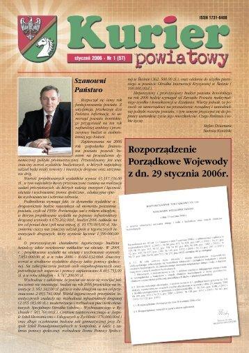 Kurier Powiatowy nr 1(57) (1.74 MB) - Powiat koniński