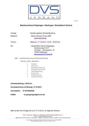 Einladung als pdf - Tauchinsel Göppingen