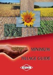 Minimum tillage or direct drilling
