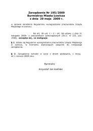Regulamin wynagradzania pracowników Urzędu Miejskiego w ...
