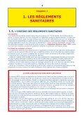 LE RÉGLEMENT SANITAIRE - Page 3