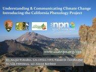 The California Phenology Project - USA National Phenology Network