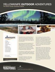 Yellowknife Outdoor Adventure - NWTT Travel Trade