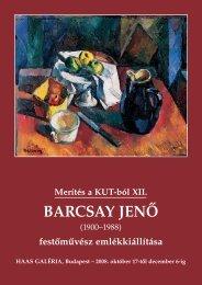 Merítés a KUT-ból XII. - Barcsay Jenő - Haas-Galéria