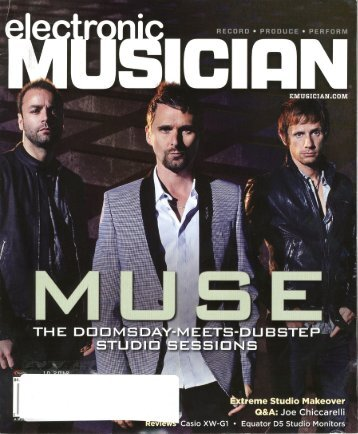 Electronic Musician - Cover Story - October 2012