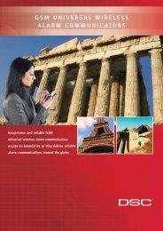 GSM UNIVERSAL WIRELESS ALARM COMMUNICATORS