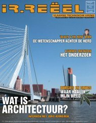 ARCHITECTUUR? - VTK
