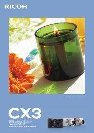CX3カタログ PDFダウンロード - リコー