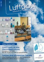 COPD – mehr als eine Atemwegserkrankung - Patientenliga ...