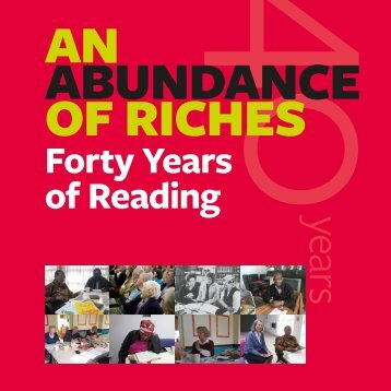 Forty Years of Reading - Ilkley Literature Festival