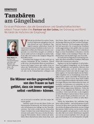 Bericht mit Gegenargumenten aus der Schweizer ... - BPW Bern
