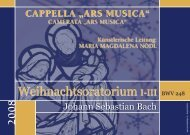 2008 - Cappella Ars Musica