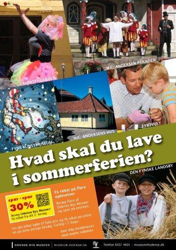 Flere aktiviteter for børn i sommerferien. - Odense Bys Museer ...