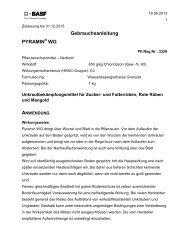 GA Pyramin WG - BASF Pflanzenschutz Österreich