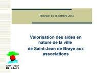 Diapo_Valorisation (pdf - 162,66 ko) - Ville de Saint Jean de Braye