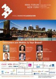 Register Now - Mobile Marketing Association