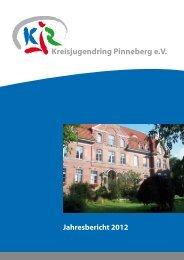 Geschäftsbericht 2012 - Kreisjugendring Pinneberg eV