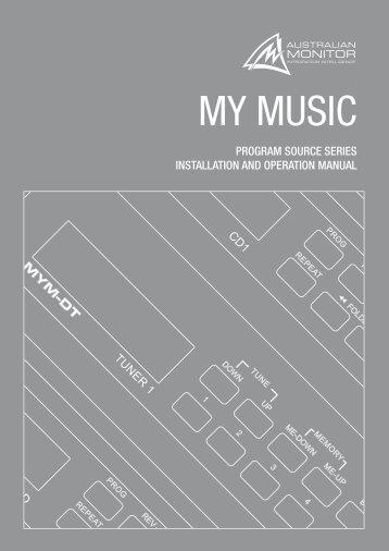My Music Manual - Australian Monitor