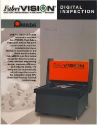 Amada Fabrivision Brochure - Sterling Machinery