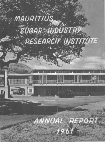 Annual Report 1961 - BEEP