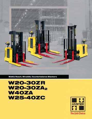 Spec Sheet - Hyster Company