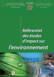 Référentiel des Etudes d'Impact sur l'Environnement - Département ...
