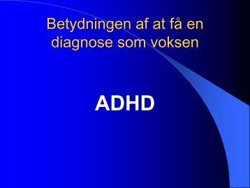 Diagnose som voksen, pdf