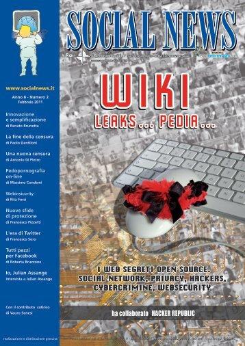 i web segreti open source. social network, privacy ... - SocialNews