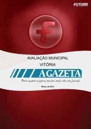 Avaliação Municipal VITÓRIA/ES - FuturaNet
