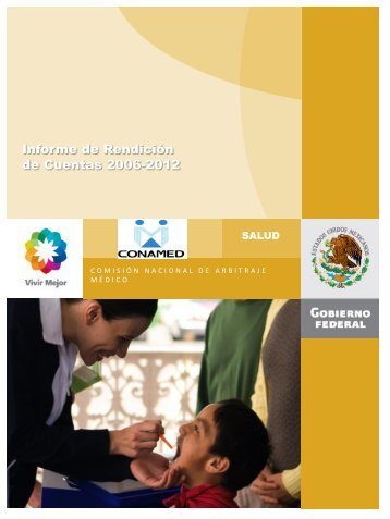 Informe de Rendición de Cuentas 2006-2012 - Comisión Nacional ...