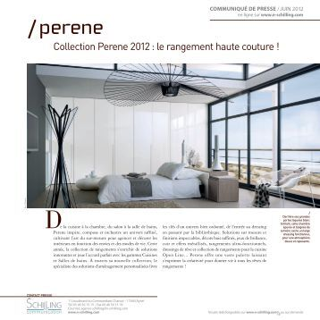 Collection Perene 2012 : le rangement haute couture ! - Un air d'éco ...