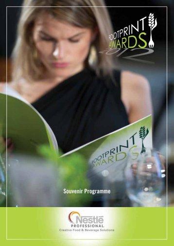 Souvenir Programme - Foodservice Footprint