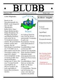 spart dem Verein viel Portokosten - Tauchsportclub Koblenz
