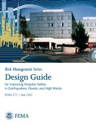 Cover - Table of Contents - Federal Emergency Management Agency