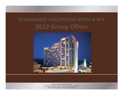 Renaissance Hollywood Hotel - Marriott International