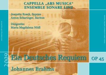 2009 - Cappella Ars Musica